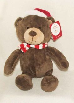 Christmas Carter's Little Occasions Santa Bear Plush Animal (61043)  - Available at Connected Concepts e-Commerce Shop at eBay Stores