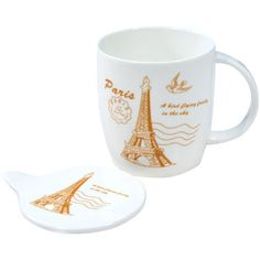 You'll have a hard time finding mugs as unique as these anywhere else! Our Novelty mug selection includes lidded, heart shaped, and heat sensitive mugs. Novelty Mugs, Paris Eiffel Tower, Heart Shapes, Dishes, Orange, Tableware, Pink, Dinnerware, Hot Pink