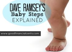Dave Ramsey's Baby Steps Explained!! Start HERE!!