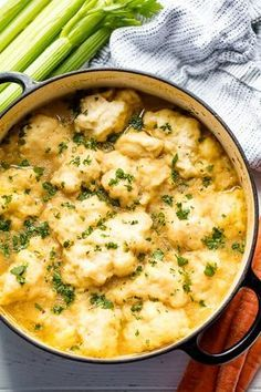 This easy Chicken and Dumplings Recipe is just like mom used to make! This recipe will teach you how to make chicken and dumplings that's full of old fashioned homemade goodness.