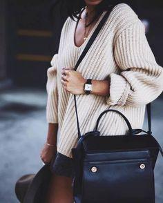 Imagen de bag, black, and chic