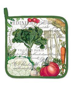 From My Garden Potholder by Michel Design Works #zulily #zulilyfinds
