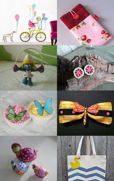The dance of Spring by Paula on Etsy--Pinned with TreasuryPin.com
