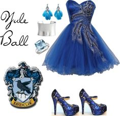 Ravenclaw Yule Ball, created by brebre267 on Polyvore