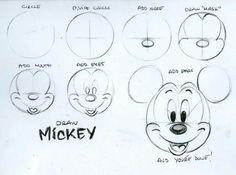 Draw mickey