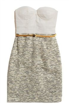 sweetheart neckline dress<3