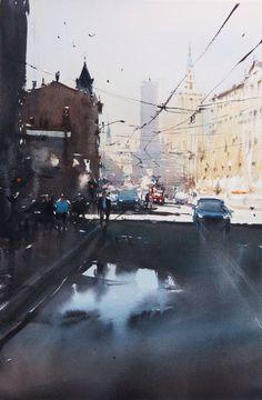 Joseph Zvukbic, Moscow