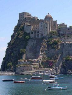 The island of Ischia, Bay of Naples, Italy