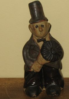 Vintage Tremar chimney sweep figurine.