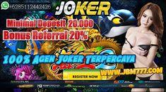 100% Agen Joker Terpercaya Live Casino, Slot Online, Online Games, Poker, Android