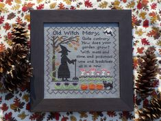 Old Witch Mary. $9.50, via Etsy.