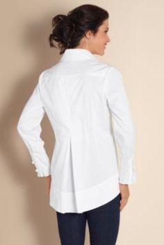 Women'S Tuxedo Blouse 121