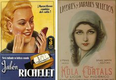 Jabón para la cara Richelet de 1935 y Licor Higiénico Kola Cortals, 1950 Old Ads, Billboard, Movie Posters, Movies, Pharmacy, Google, Costumes, Spanish Posters, Vintage Posters