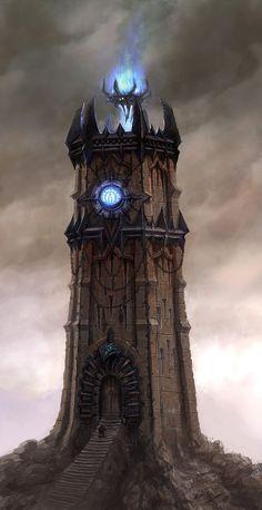 Torre del caos de Warhammer  por Lucas Hardi