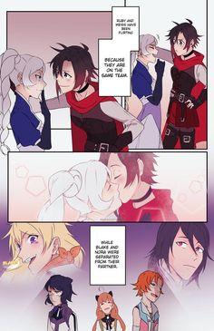 Rwby Anime, Anime Girlxgirl, Rwby Fanart, Yuri Anime, Anime Kiss, Rwby White Rose, Rwby Blake, Rwby Bumblebee, Rwby Memes