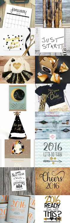 happy new year ! by Dominique Sampaio on Etsy--Pinned with TreasuryPin.com