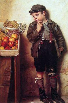 john george brown art - Google Search