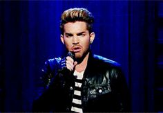 Adam Lambert tributes James Corden with funny version of 'We Are The Champions'. [x]