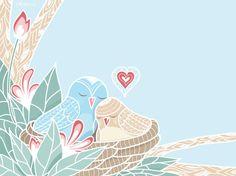 Painel love birds