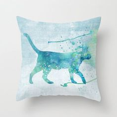 Cat Pillow Case | Cat Pillow Case Cat Pillow Cover Cat Throw by MiaoMiaoDesign, $32.00