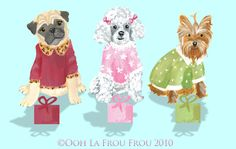 ooh la frou frou: Snowflakes, PJ's and Glamour