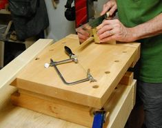 The perfect workkbench for the small shop or for doing detail work. Butcher Block Cutting Board, Bamboo Cutting Board, Woodworking Bench For Sale, Portable Workbench, Miter Saw, Diy, Woodcarving, Workshop, Garage