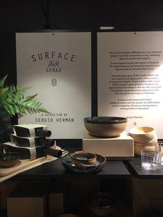 Surface, de serviescollectie van Sergio Herman en Serax bij Top Interieur in Izegem en Massenhoven