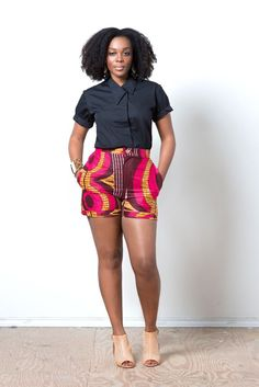 Check Out Casual African Print Dresses with Lovely Ankara Styles African Dresses For Women, African Attire, African Wear, African Women, African Style, African Print Fashion, Africa Fashion, African Prints, Ankara Fashion
