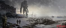 Doug Williams: Pacific Rim concept art