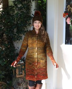 Hand Knitting, High Neck Dress, Dresses With Sleeves, Coat, Long Sleeve, Projects, Fashion, Turtleneck Dress, Log Projects