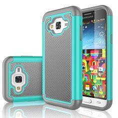 Samsung Galaxy J7 2015 Phone Case Cell Phone Accessories Hybrid Shock Absorbing  #Tekcoo