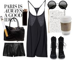 """""""Paris is always a good idea"""" by vv0lf ❤ liked on Polyvore"""