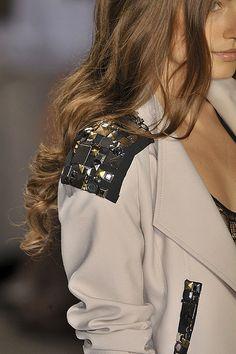 Embellished shoulders