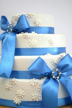 Something borrowed...Something Blue by Sugar Pot, via Flickr