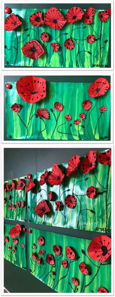 Spring Art, Spring Crafts, Easy Crafts For Kids, Art For Kids, Remembrance Day Art, Classe D'art, School Art Projects, Kindergarten Art, Art Classroom