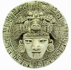 Shop Aztec Mask Large Clock created by Personalize it with photos & text or purchase as is! South American Art, Native American Art, Ancient Aztecs, Ancient Civilizations, Mask Draw, Aztec Mask, Arte Latina, Aztec Culture, Aztec Warrior