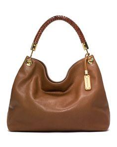 9bd812d394 Michael Kors Large Skorpios Pebbled Shoulder Bag. Μοδάτες Τσάντες