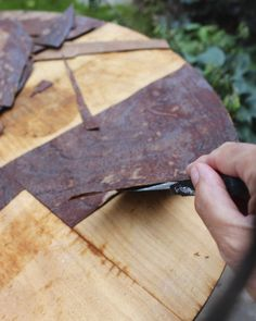 remove damaged veneer 2