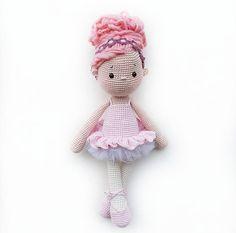 Amigurumi Crochet Doll Tammy the little Ballerina