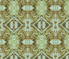 Mermaid's Wallpaper - 4 fabric by susaninparis on Spoonflower - custom fabric