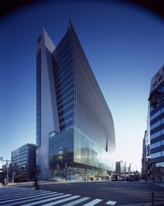 Merrill Lynch Japan Head Office KPF Architects « Awesome Architecture