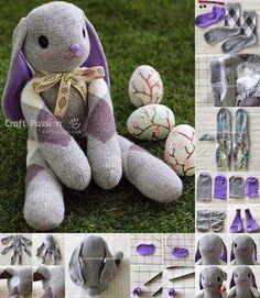 conejo+de+pascua+con+calcetines.jpg (470×540)