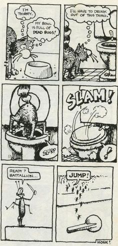 Fat Freddy's Cat  ROACHES page 3