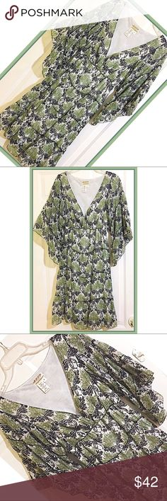 Boho Style Dress by MSSP SZ M Gorgeous Boho style dress by Max Studio Specialty Products in GUC with no issues! 70/30 Cotton Silk blend  with built in slip. Looks adorable with boots, wedges or sandals!  SZ M Max Studio Dresses