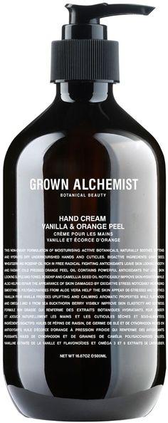 Grown Hand Cream Vanilla & Orange Peel