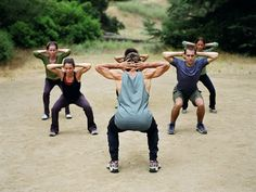 SQUATS! Get your lower body strong and in shape for snowboard season by doing these seven squat variations.--I need to send this to crystal