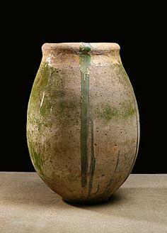 French Biot Olive Oil Jar Circa 1780