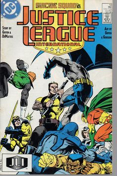 from $2.12 - Justice League International 13 Suicide Squad Dc 1987