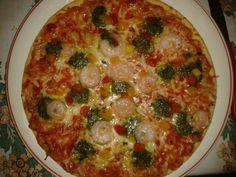 Pizza ai gamberetti