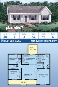 Simple 3 Bedroom Home Plan Under 1300 sq. Affordable and Efficient Ranch Home Building Plans Simple 3 Bedroom Home Plan Under 1300 sq. Affordable and Efficient Ranch Home Building Plans Family Home Plans […] room layout floor plans